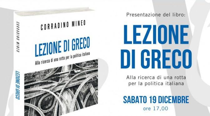 """""""Lezione di Greco"""" sbarca a Palermo"""
