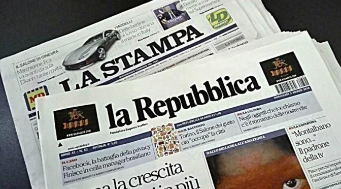 Verso il giornale unico?