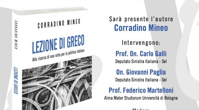 """""""Lezione di greco"""" a Bologna"""