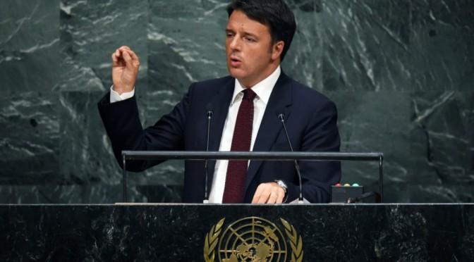 Renzi prende tre sberle