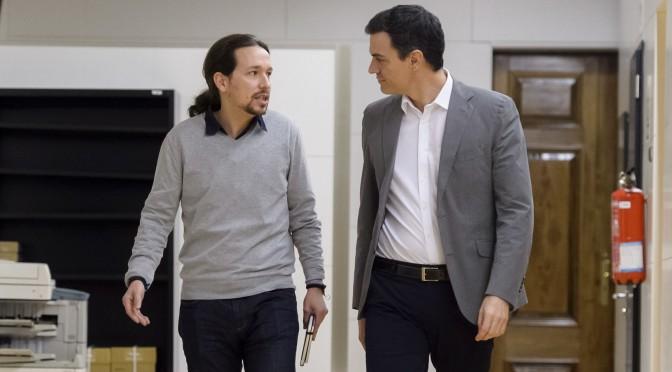 La sinistra che vince, in Spagna