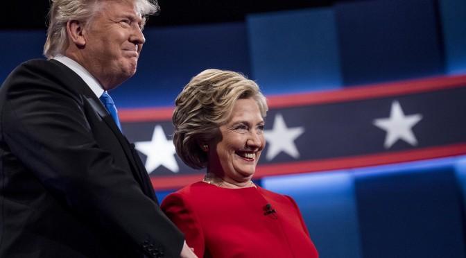 Clinton spoglia Trump