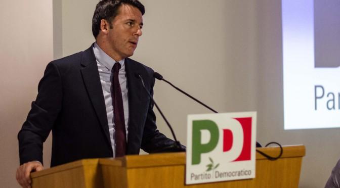 E Renzi restò solo