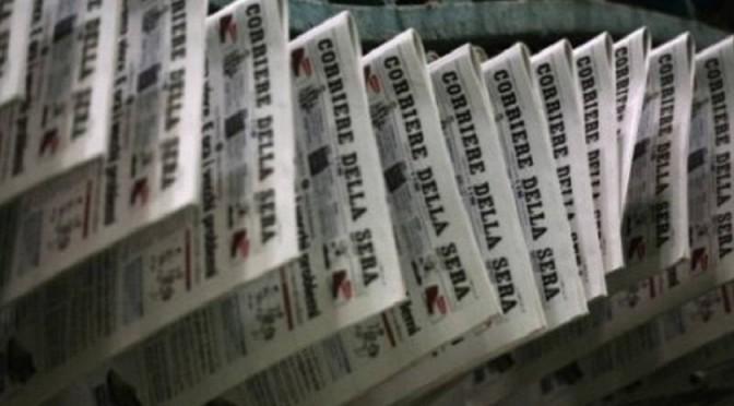 Renzi fa incazzare il Corriere