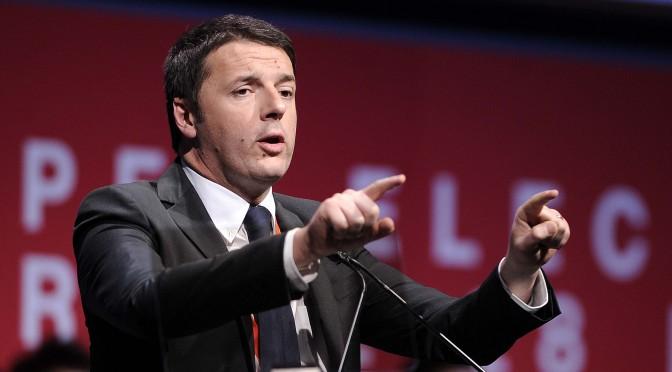 Il primo Maggio di Matteo Renzi