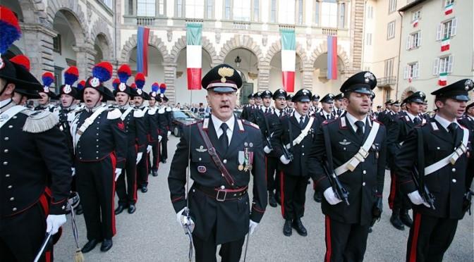 L'arma dei carabinieri fra trame, complotti e inchieste
