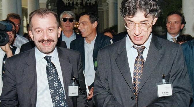Macron con Gentiloni, Maroni contro Salvini, Repubblica con Boldrini contro Fratoianni