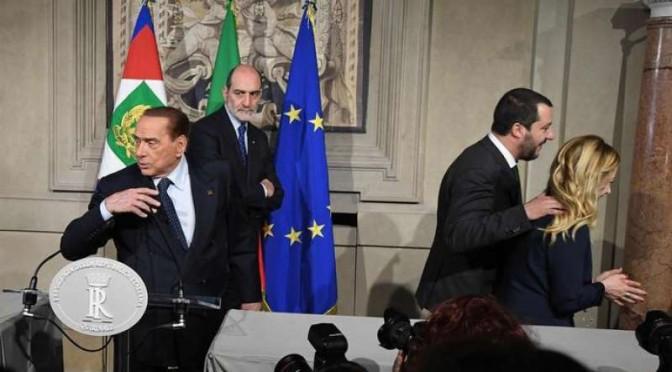 La finta unità del centro destra trascina le trattative per il governo
