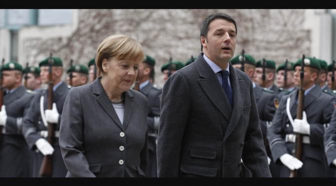 Angela,Matteo e Mons Galantino