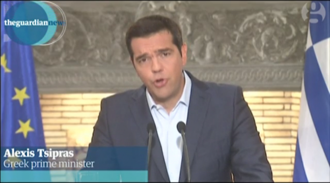 Tsipras vince perché spara