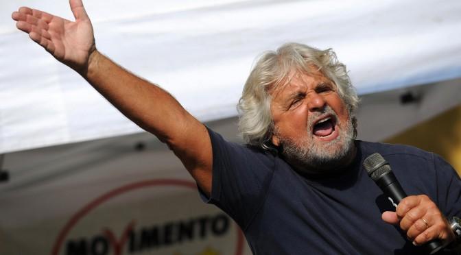 Grillo fa come Renzi