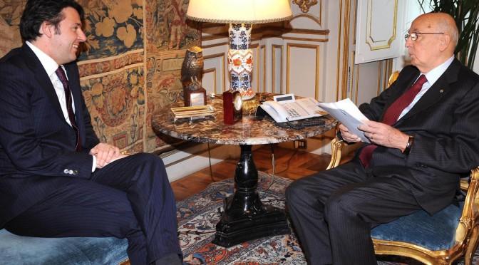 Napolitano contro Renzi