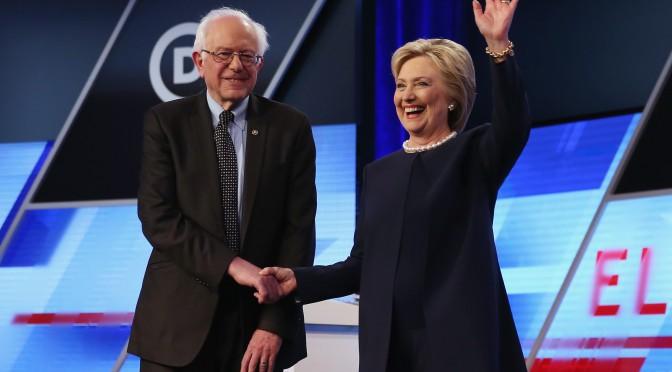 Clinton candidata, Sanders decisivo