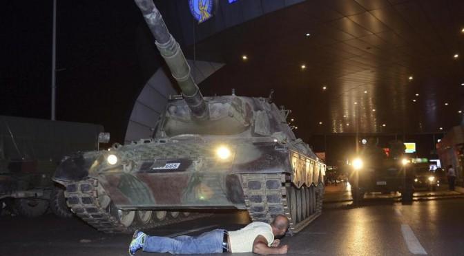 Fallito il colpo di stato in Turchia