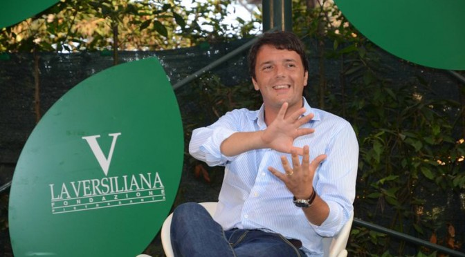 Renzi corregge Renzi