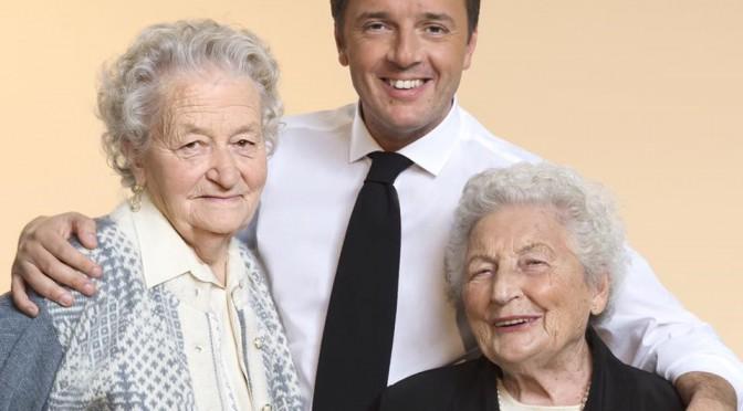 Voucher ai giovani, nonne in poltrona