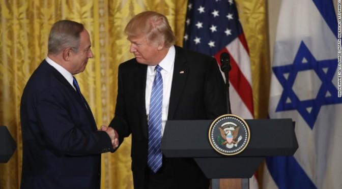 Trump Netanyahu: la destra estrema