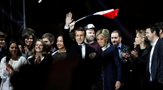 A caldo, su Macron presidente