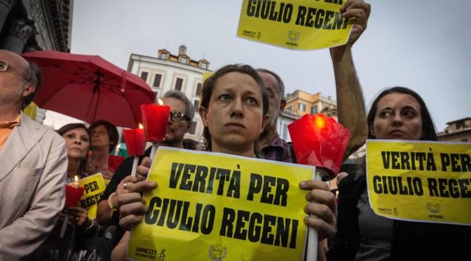La verità sul martirio di Giulio Regeni