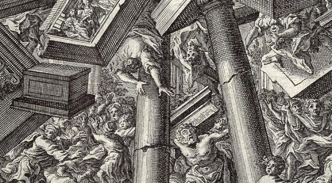 Muoia Sansone con tutti i filistei