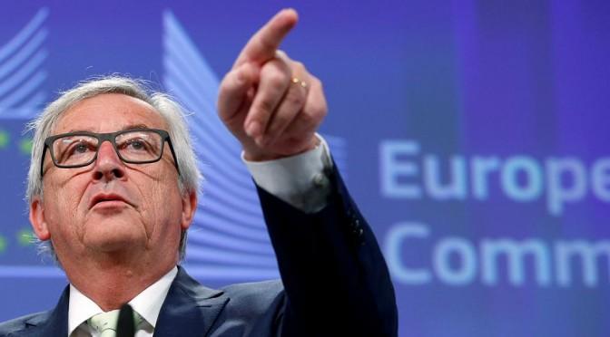 L'Italia balla per una scemenza detta da Junker